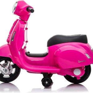 Happy Baby Vespa electrische Mini kinder scooter Roze