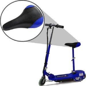 Electrische scooter met afneembaar en verstelbaar zitje 120w 24v blauw