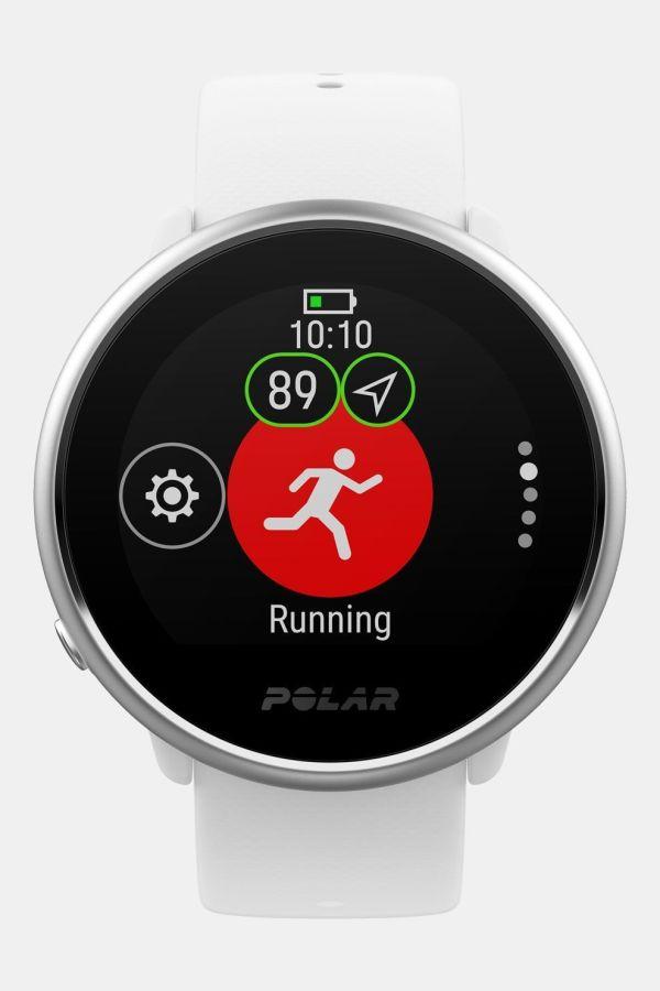 Polar Ignite Fitness Horloge Wit/Zilver