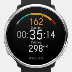 Polar Ignite M/L Fitnesshorloge Zwart/Zilver