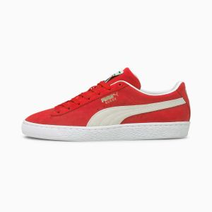 Suede Classic XXI sneakers, Rood/Wit, Maat 42,5 | PUMA