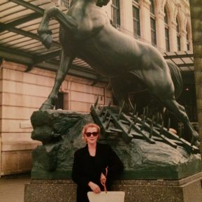 From the photo archives, dateline Paris. (Margaret's not saying how long ago!)