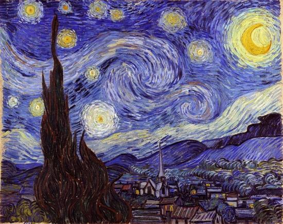 Vincent Van Gogh Starry Night Art Poster