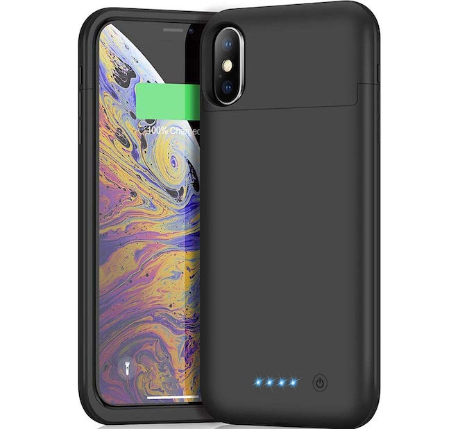 timeless design 64aff 84ba8 10 Best iPhone XS Battery Cases | ShopForDevice