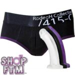 Rodeoh Harness Briefs Black Amp Red Platinum Package