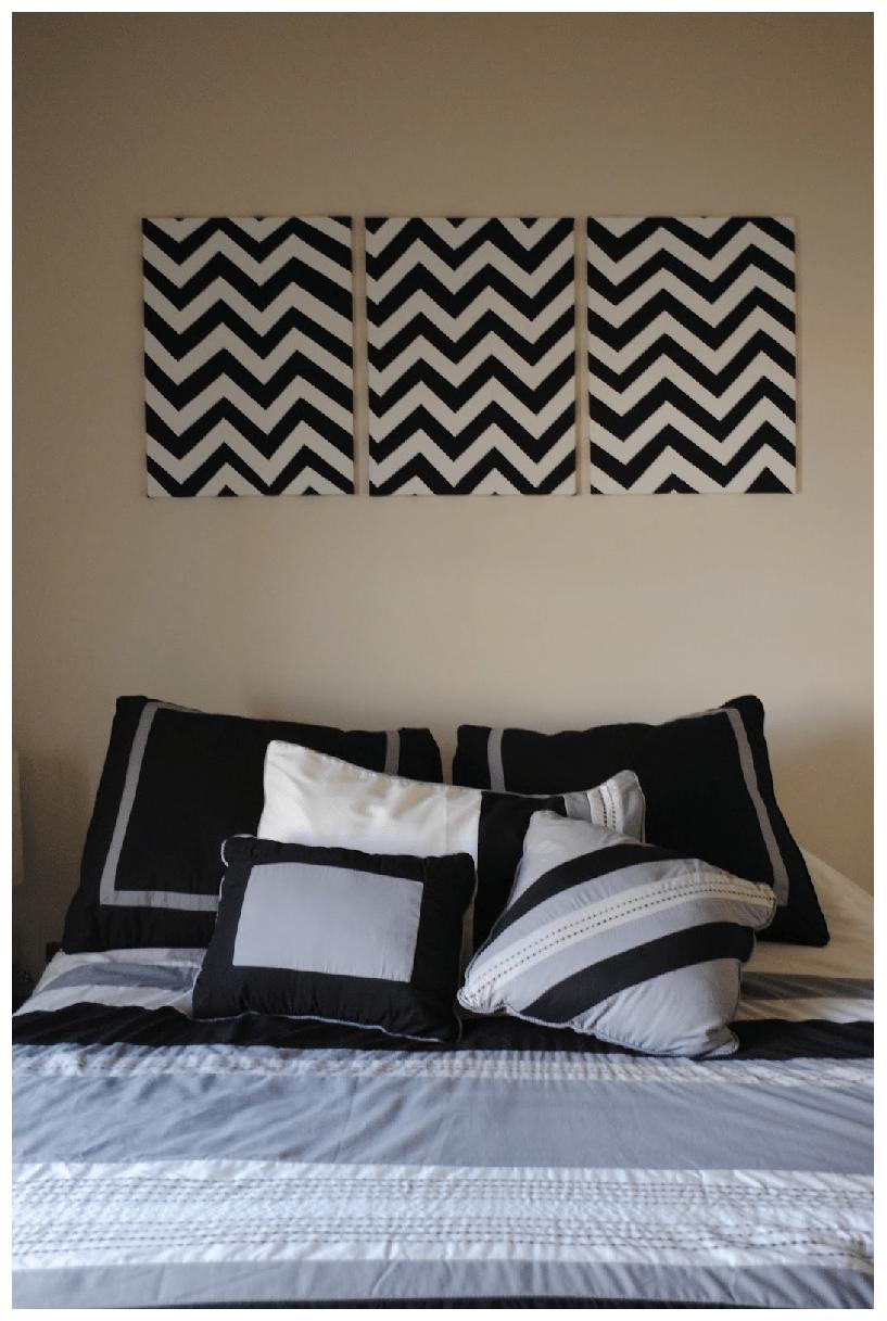 6 DIY Bedroom Wall Art Ideas | shopgirl on Bedroom Wall Decor  id=89310