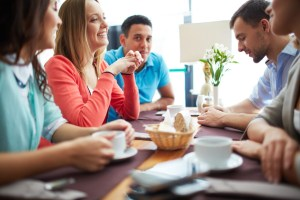 Coffee is nit only a favorite drink but creates a social hub