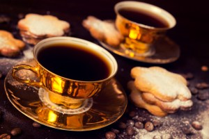 Ethiopian and Turkish coffee is traditionally brewed very strong.