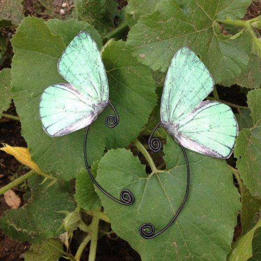 каффы с крыльями бабочки