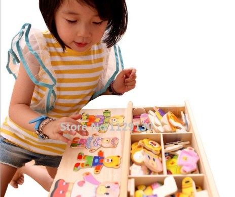 Hot-educational-toys-for-children-wood-wooden-Winnie-locker-box-stereo-jigsaw-puzzle-toy-baby-creative