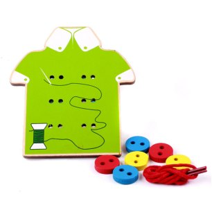 Montessori-Baby-Toys-2-Kinds-Wear-The-Button-Wooden-Toys-Educational-Threading-Board-Beded-Blocks-Child