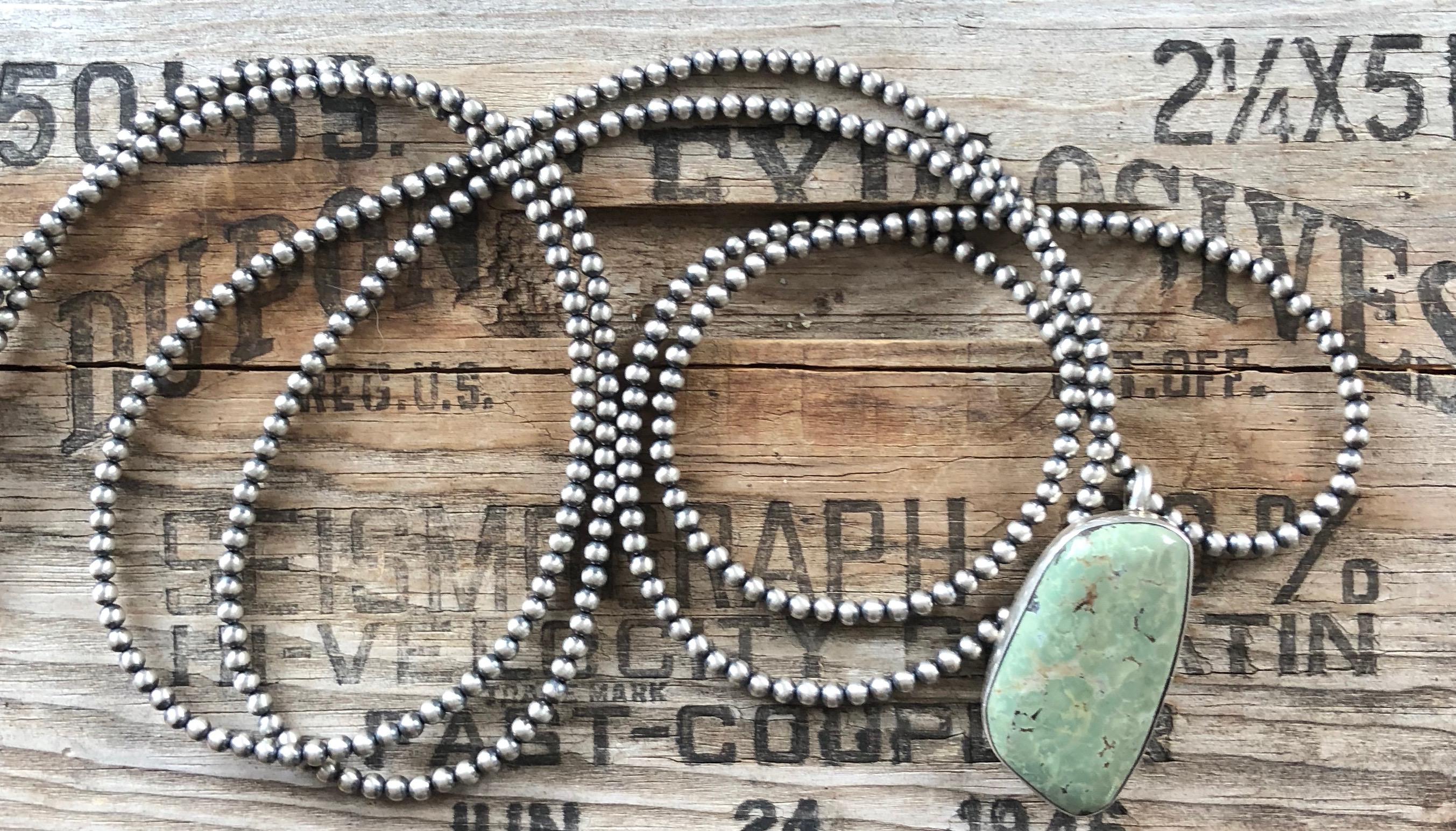 30 4mm Navajo Pearls