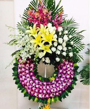lẵng hoa tang lễ