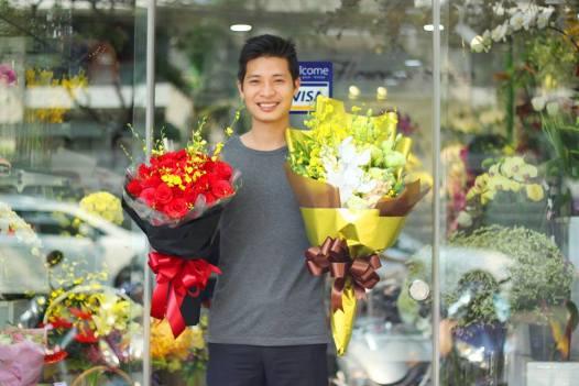 tiệm hoa tươi đường hai bà trưng quận 1