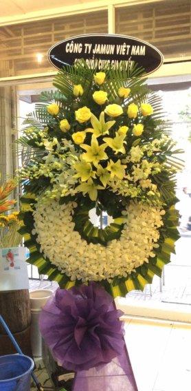 hoa tang lễ tại quận 2