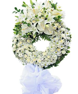 hoa chia buồn hcb 45
