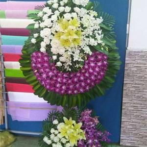 hoa chia buồn hcb 49
