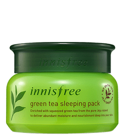 innisfree Greentea Sleeping Pack