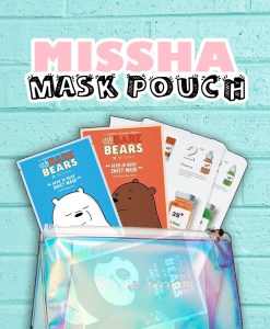 Missha Mask Pouch text