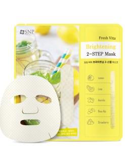 SNP Fresh vita brightening two step mask