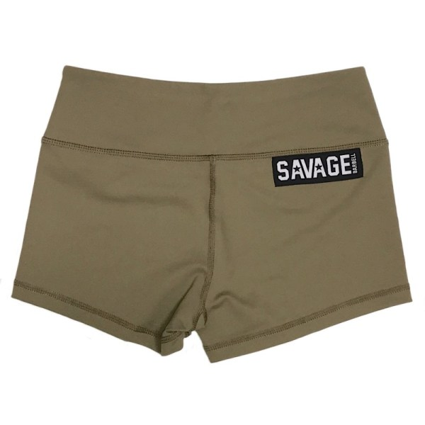 Booty Shorts Savage Barbell - Army