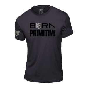 T-shirt Born Primitive Brand Tee Heavy Metal