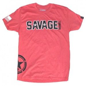T-shirt Savage Barbell Hip Star