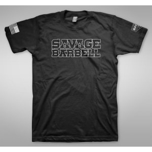 T-shirt Savage Barbell Suicide Squad