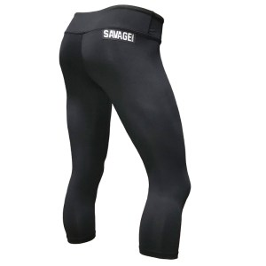 Capri Leggings Savage Barbell Black