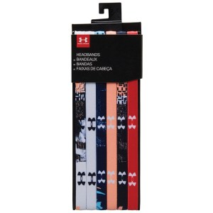 Under Armour 6-Pack Headbands Multi Color