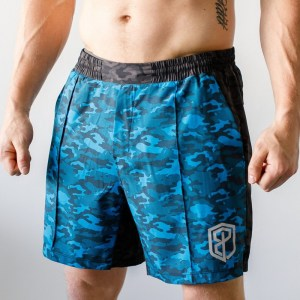 Born Primitive Training Shorts Neptune