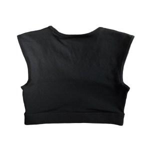 Savage Barbell Soutien Desportivo Crop Tee Black