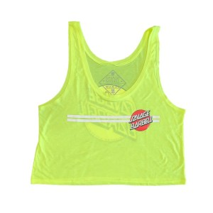 Savage Barbell Crop Top - Retro Savage - Glow Stick