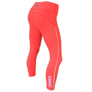 Capri Leggings Savage Barbell Orange Crush