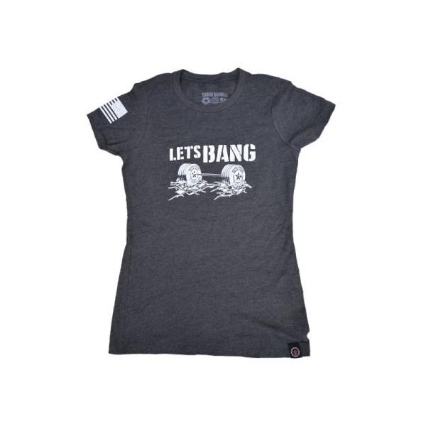 T-shirt Savage Barbell Lets Bang W