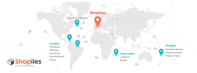 Achetez sur Internet, nous livrons la Guadeloupe