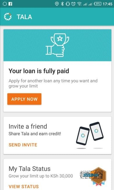 download Tala App Kenya two