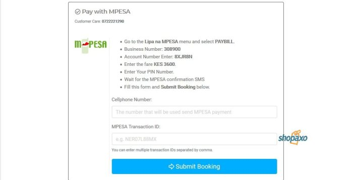 Mpesa payment