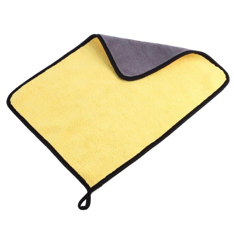 מגבת מיקרופייבר קומפקטית לרכב