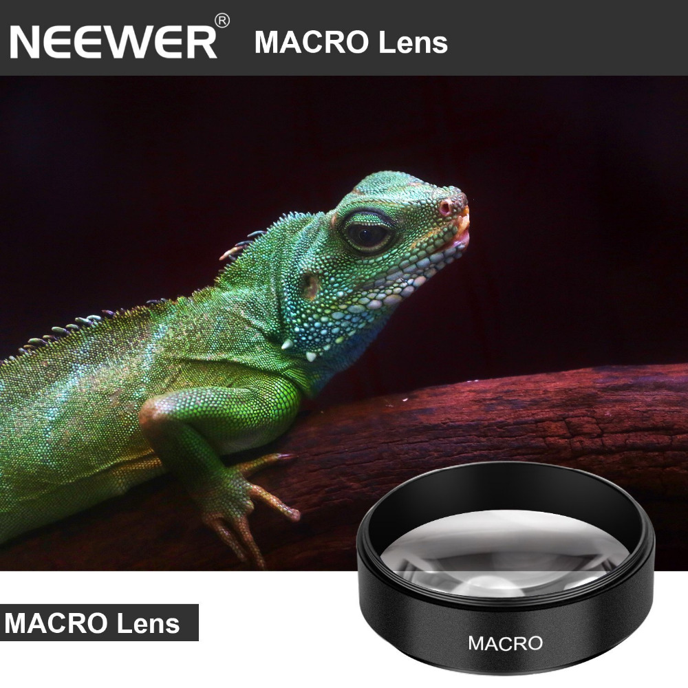 52mm 0.43x HD Wide Angle Lens With Macro Close-up Portion Lens No Distortion