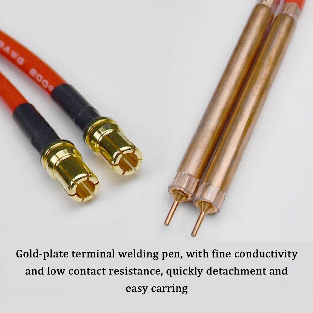 Mini Spot Welding Pen with type-c Interface Quick-Release Pen For 18650 Battery