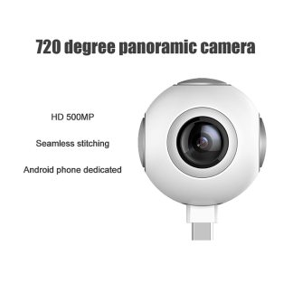 Portable Mini HD 360 Degree Panoramic Vr Camera Motion for Android System
