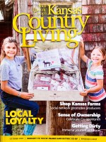 Krafft Beef featured in Kansas Country Living Magazine
