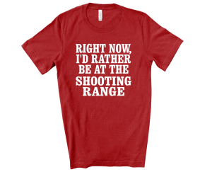 right now I rather be at the shooting