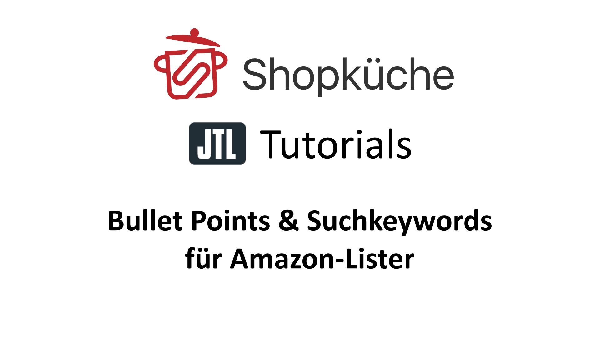 Tutorial Bullet Points Suchkeywords Fur Amazon In Jtl Wawi