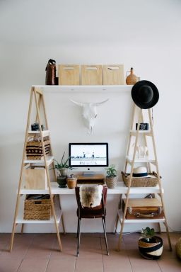 boho working space