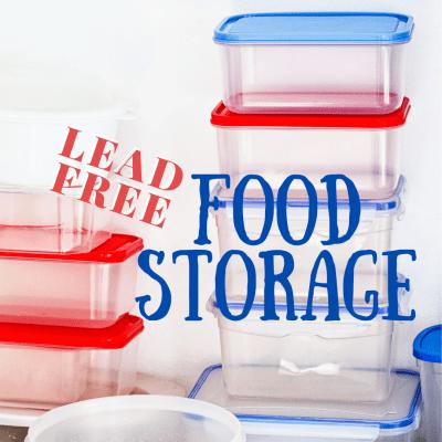 Lead-Free Food Storage
