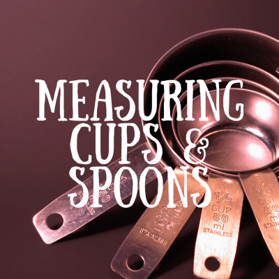 Lead-Free Measuring Cups & Spoons