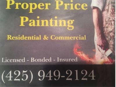 Proper Price Painting LLC