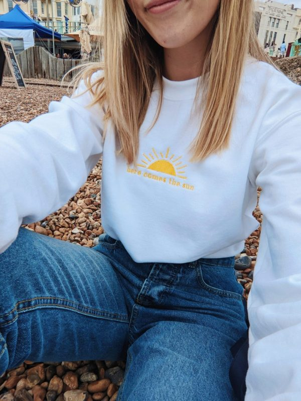 here comes the sun jumper